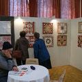 stand de l'association Art, Quilt et Perche