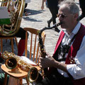 Ein schwarzes Saxophon ist was schönes