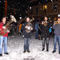 Unsere Russbacher Bläser bringen Adventstimmung