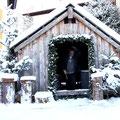 frisch verschneit schaut es gleich vorweihnachtlicher aus