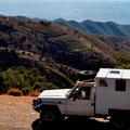 Am Fusse der Sierra Nevada mit Blick Richtung Meer, Almeria