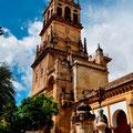 Ein Turm der Mezquita-Kathedrale von Córdoba.