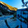 """Morgenstimmung und """"Auftauen"""" unseres Campers in den ligurischen Alpen"""