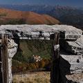 Ruine mit Blick auf Erbonne
