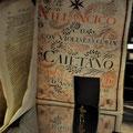 Alte Schriften in der Kathedrale von Salamanca