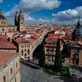Blick von einem der Türme der Kathedrale von Salamanca