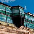 "Die Fassade der ""Casa Lis"", Art Noveau+Art Déco Museum, Salamanca"