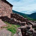 Alte Siedlung in den Pyrenäen