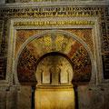 Mihrab der Moschee (Mezquita, Córdoba)