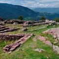 Überreste der alten Dorfmauern