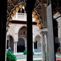 """""""Königspalast Alcázar"""" in Sevilla"""