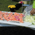 平塚市園芸協会花き部会バラ部会提供のバラ切花