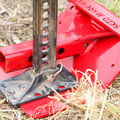 Base Plate For Your Jack - Run A Bolt Through For Stability