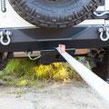 Recover Strap - Jeep JK - Skid Plate V2