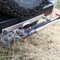 Hi-Lift Jack Mounted - Toyota FJ - Skid Plate V2
