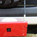 "CB Antenna For 1/2"" Hole & Back-Up Trail Camera - Skid Plate V2"