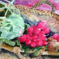 Gemüseeinkauf, 2008, 36 x 48cm, Aquarell
