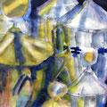 Siegerehrung, 2004, 50 x 65cm, Aquarell