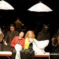 """Die Toten"" - Michael J. Schwendinger (Abul Hasan) , Lisa Rombach (Nushat Alfuat)"