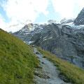 Auf dem Weg zur Gleckstein SAC Hütte