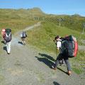 Aufstieg von Kleine Scheidegg nach Lauberhorn-Schulter