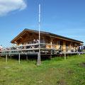 Verschnaufpause bei Benji - Lauberhorn Start Bar