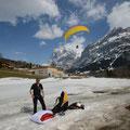 Landeanflug Grindelwald Grund