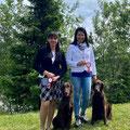 Margarethe, Ylvi, Saphira und Ich