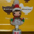 サンタ女子の鉛筆カバー