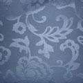 "Tissu ""arabesques bleues"""