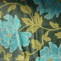 """Tissu """"fleur bleue"""" (lourd et épais, idéal pour l'hiver)"""
