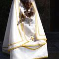 Vierge romane de Bell-Lloc habillée © SC