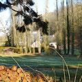 Vue sur le Domaine de Joreau une belle journée d'hiver