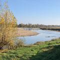 La Halte des Mariniers, grand gite 15 personnes près de Saumur  - vue sur Loire