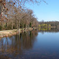 Etang de Joreau in Gennes, only 800 m away from Domaine de Joreau