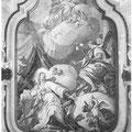 Chiesa SS. Annunziata - Navata centrale - L'Annunciazione di Giovanni Cosenza.Foto di Giulio Di Lorenzo