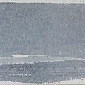 """""""Strand"""" #4, aquarel, pastel en houtskool op papier / 10x30cm"""