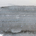 'Strand / 海辺'  #3/ 2014, Sumi(Japanse inkt) op papier, 10x30cm /Private collection in Netherlands