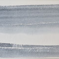 """Strand"" #8, aquarel, pastel op papier / 15x30cm / Private collection in the Netherlands"