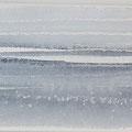 """""""Strand"""" #22, aquarel, pastel op papier / 13x40cm"""