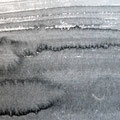 'Strand / 海辺'  #1/ 2014, Sumi(Japanse inkt) op papier, 10x30cm / Private collection in Netherlands