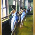 1999~2001? 写真模写 パネル、油彩