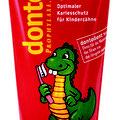 Marken- und Packagingdesign und Figurentwicklung, dontodent Zahncreme, für dm-drogeriemarkt © Susanne Barth