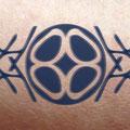 Lebendiger Schlüssel als Tattoo © Susanne Barth