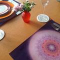 """Lebendiger Kristall """"respekTIERE"""" für Tischsets © Susanne Barth"""