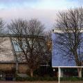 Sanierte Rundsporthalle neben dem ebenfalls von unserem Büro geplanten Gymnasium
