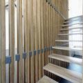 Treppe im Detail