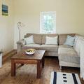 Das Wohnzimmer mit Kuschel-Sofa