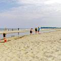 Strand so weit das Auge reicht