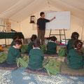 Schule im Zelt